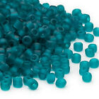 200 Matsuno 6/0 Glass Seed Beads Frosted Translucent & Inside Color Seed Beads