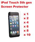 iPod Touch 5th Gen LCD Screen Protector Anti Scratch High Quality 1 2 4 8 6 10