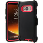 For Samsung Galaxy S9 / S9 Plus S8 / S8 Plus Case &quot;Clip Fits Otterbox Defender &quot; <br/> S9 / S9+ S8 / S8 + FULL TEMPERED GLASS PROTECTOR OPTION