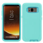 For Samsung Galaxy S9 / S9 Plus S8 / S8 Plus Defender Case Rugged w/ Holster  <br/> S9 / S9+ S8 / S8 + FULL TEMPERED GLASS PROTECTOR OPTION