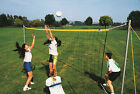 Volleyball set complete with posts, net and court markings