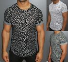 A.F.E.X D.G Y&R STAR Casual Distressed Slim Fit T-Shirt Kanye West Style Yeezy