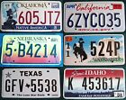 Various states, various prices, AMERICAN LICENSE NUMBER PLATE #3