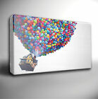 UP - FILM MOVIE ANIMATION - GICLEE CANVAS ART