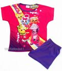 GIRLS SHOPKINS short / shortie / shorty pyjamas - Ages 3-10yrs