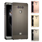 Luxury Aluminum Metal Bumper Frame Case Cover Brushed Acrylic Cover For LG G6