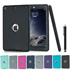 SHOCKPROOF HEAVY DUTY RUBBER HARD CASE COVER FOR APPLE IPAD 2 3 4 5 6 MINI AIR