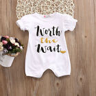 Cute Newborn Infant Baby Boy Girls Romper Bodysuit Jumpsuit Outfits Set Clothes