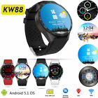 Earliest KingWear KW88 Smartwatch Bluetooth Android MTK6580 Quad Middle GPS 4GB
