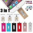 16 32 64 128 256GB OTG Device USB i Flash Drive Storage Memory Stick For iPhone