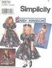 """Simplicity 9970 Girls' Dress and Doll Clothes for 17"""" Doll 7"""