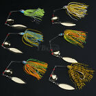 Mixed Color Sinking Fishing Lures Spinner Bass Paillette Tackle Crank Bait 17g