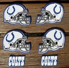 Iron On Sew On Transfer Applique Indianapolis Colts Handmade Cotton Patches $5.49 USD on eBay