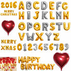 """16"""" 42"""" Foil Letter Number Heart Huge Balloons Birthday Wedding Party Decoration"""