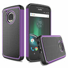 For Motorola Moto G5 Plus Armor Shockproof Rugged Impact Rubber Hard Case Cover