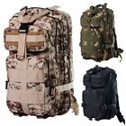 30L MOLLE Tactical Military Outdoor Camping Backpack Hiking Bag Rucksack