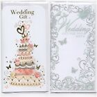 Wedding Day Money Voucher Wallet Gift Card with Envelope - Various Designs