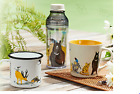 Starbucks Earth Day Mug bottle Enamel endangered animals Taiwan Gift card