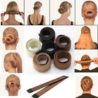 Women Girls Hair Styling Donut Former Updo French Twist Magic Tool Bun Maker US