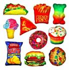 FOOD FIGHT PILLOW Novelty Throw -You Choose- Slumber Party Game & Favor Gift