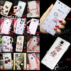 Luxury Bling Crystal Diamond Rhinestone Soft Clear back Case Cover For Phones 17