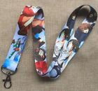 Lot Japanese Anime Neck Strap Lanyards Mobile Phone Key Chain Party Gifts M481