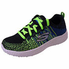 Skechers Boys Burst In The Mix Air Cooled Memory Foam Comfort Lace Trainers
