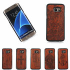 100% Natural Carved Wooden Phone Case Cover For Samsung S7 / S7 EDGE / S8 / S8+