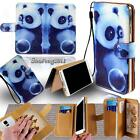 Leather Flip Card Wallet Stand Cover Case For Various Celkon SmartPhone +Strap