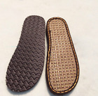 Summer Unisex Full Slipper Soles Shoe Making Woven Sew on Replacement Repair DIY