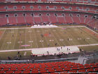 2 tickets Cleveland Browns Baltimore Ravens 12/17 CLOSE TO AISLE!