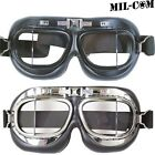 MIL-COM RAF BLACK FLYERS GOGGLES KIDS ADULTS MILITARY PILOT FANCY DRESS WW1 WW2