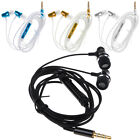 Universal 3.5mm Jack Wire Earphone Super Bass In Ear Headset with Mic Earbuds
