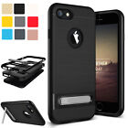 Hybrid Shockproof Rubber Hard Stand Case Cover W/Kick Stand For iPhone 6 6s Plus