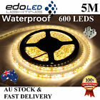 Waterproof 5M 12V Warm White 3528 SMD 600 LED Strips Led Strip Lights Car Boat