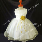 NLIGD1 Baby Christening Baptism Holy Communion Formal Pageant Holiday Gown Dress