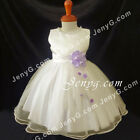 NLILA2 Baby Infants Wedding Evening Birthday Party Formal Pageant Gown Dress