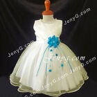 NLIT2 Baby Infants Wedding Cocktail Holiday Graduation Formal Pageant Gown Dress