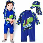 "Vaenait Baby Infant Boys UPF+50 Swimwear Bathing Suit ""Baby Surfing Dino"" 0-24M"