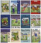 MENS TRADITIONAL VARIOUS SPORTING BIRTHDAY OPEN BIRTHDAY CARDS 1STP £1.92 GBP on eBay