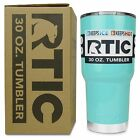 RTIC Travel Mug Stainless Steel Tumbler 30oz Coffee Cup Hot Cold Beverages