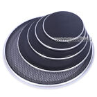 1pcs 4/5/6.5/8/10 inch Speaker Cover Decorative Circle Metal Mesh Grille  Silver