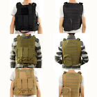 Tactical SWAT Vest Military Assault Combat CS Game Airsoft Molle Pistol Holster
