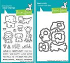 Lawn Fawn Wild for You - Clear Stamp (LF1413) or Craft Die (LF1414)