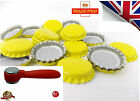 100 x YELLOW Crown Caps Capping 26mm Home Brew BOTTLING GLASS & PET -ᴓ26mm