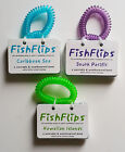 FishFlip Fish ID Card Wrist Book  - CARIBBEAN, SOUTH PACIFIC OR HAWAII - NEW