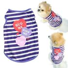 DOG TOP XS TEACUP SMALL PUPPY UK CHIHUAHUA CLOTHES TINY TOP 23CM XS purple