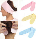 Soft Adjustable Towelling Hair Turban Head Band for Make Up Facial Salon Spa CH