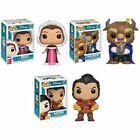 FUNKO POP Disney Series 9: Beauty and the Beast VINYL POP FIGURES CHOOSE YOURS!