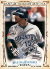 2011 Topps Allen and Ginter Baseball Highlight Sketches - Finish Your Set